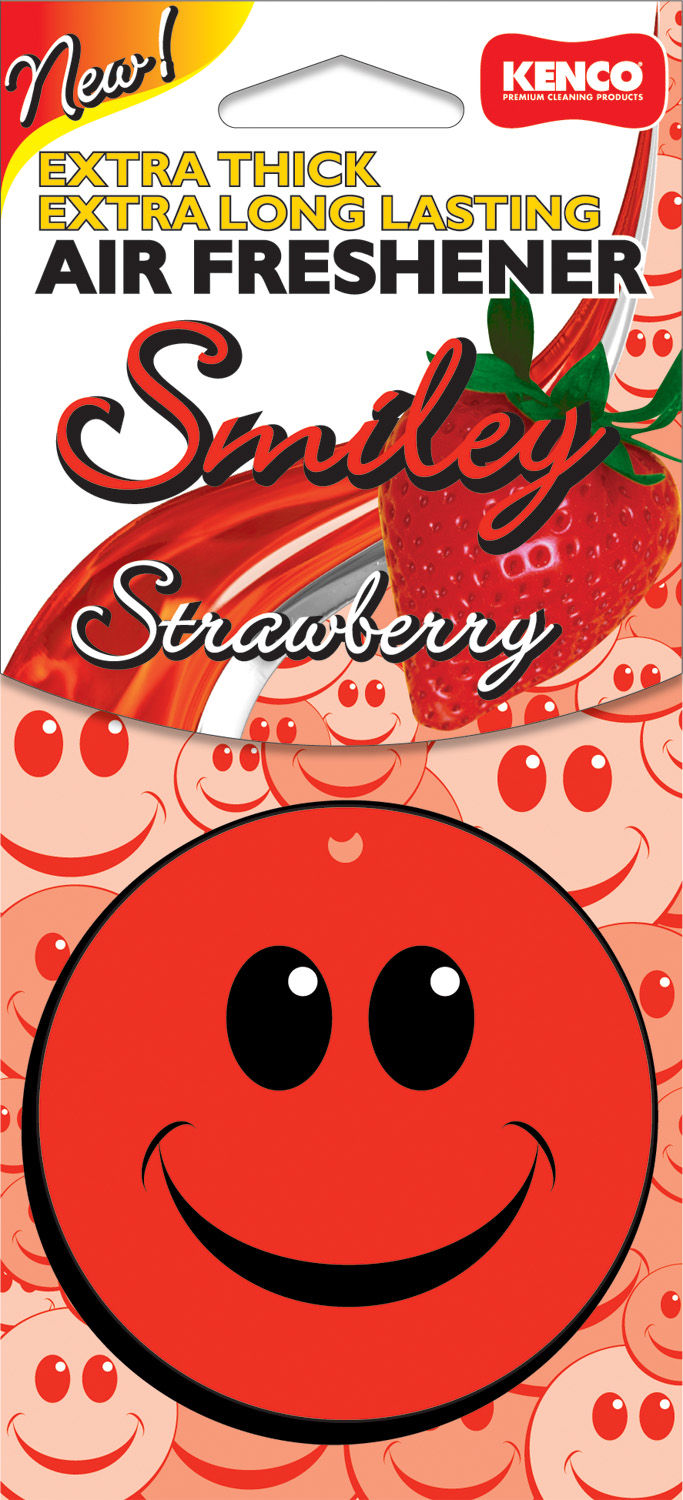 Air Fresheners Smilie Strawberry