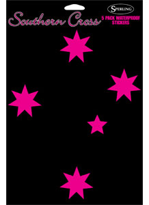 Stickers Southern Cross Pink