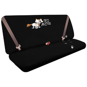 Pets On The Move Seat Protector Black