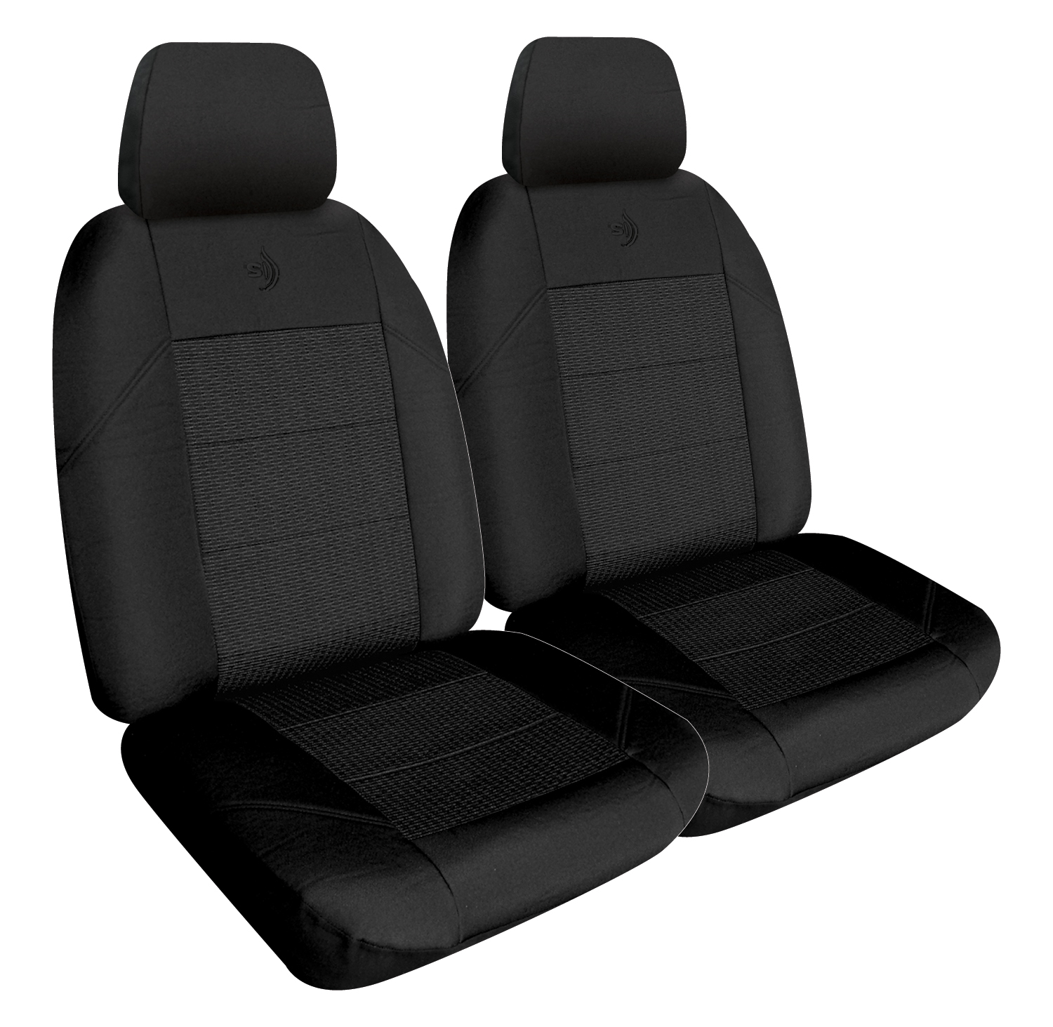 Car Seat Covers Elite Front Buckets Black